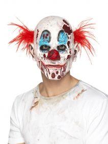 Zombie Clown Mask, Foam Latex 45021