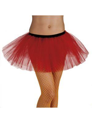 Tutu Red Fancy Dress 01701