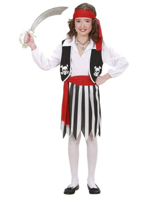 Pirate Girl Costume Kids 02637