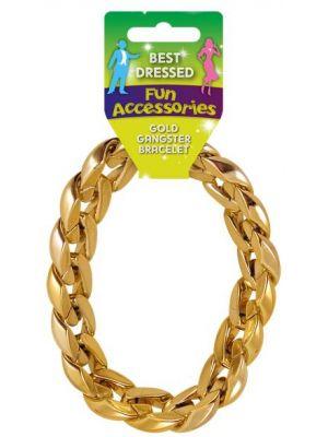 Gangster Gold Bracelet U09 614