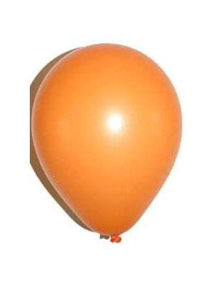 Balloon Orange Latex Pack Of 100