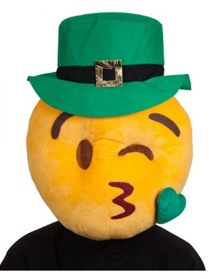Plush Head St Patricks Kissy Face 1295