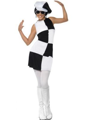 1960s Party Girl Costume  21142