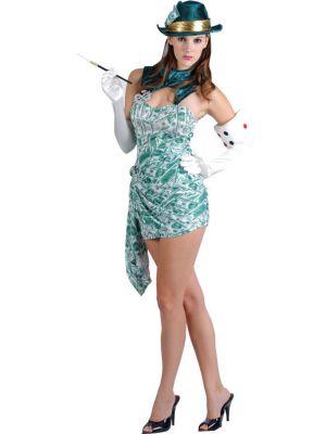 Casino Lucky Girl Costume EF-2012
