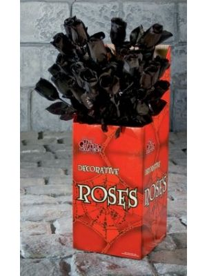 Black Rose Decoration Single