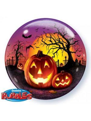Helium 22'' Haunted Halloween Balloon