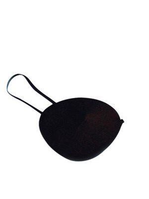Pirate Black Satin Eye patch
