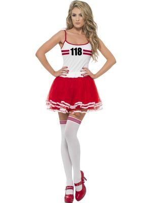 Marathon Womens Instant Kit Costume 35570