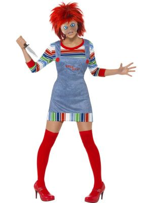 Smiffys Chucky Costume Female Licensed 39099