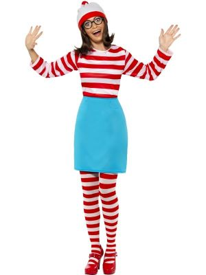 Wheres Wally Wenda Costume 39504