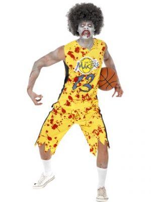 Zombie High School Horror Zombie Basketball Player Costume 40063
