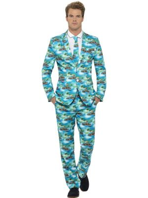 Stand Out Suit Smiffys Aloha Suit 80083