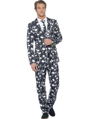 Stand Out Suit Smiffys Skeleton 43714