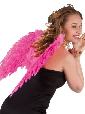 Angel Wings Hot Pink 50cmx50cm 52823