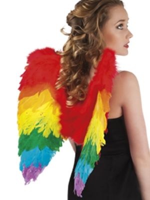 Angel Wings Rainbow 50cmx50cm 52833