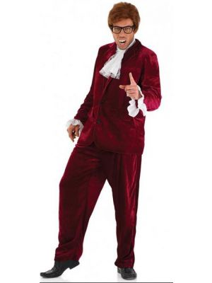 60's Gigolo Red Costume  3690
