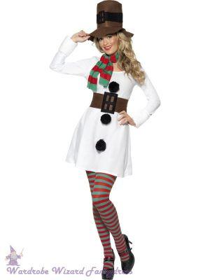 Miss Snowman Costume 7598
