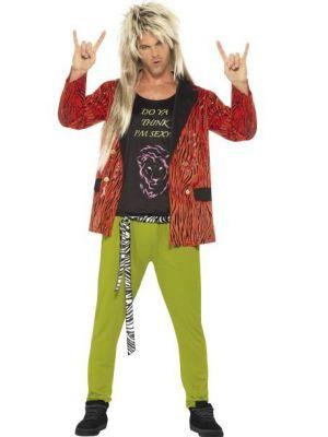 80s Rockstar Costume  43193