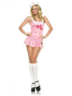 Shipmate Cutie Sailor Pink Costume 83272