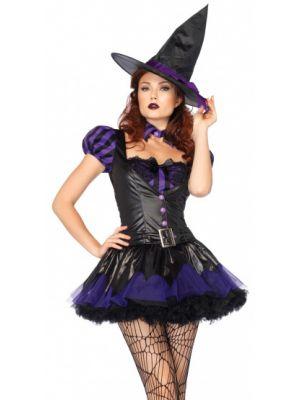 Sexy Spellcaster Fancy Dress Costume 85210