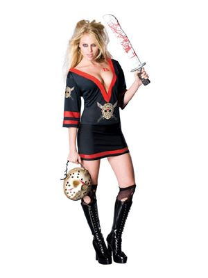 Sexy Miss Voorhees Costume Friday 13th 888822