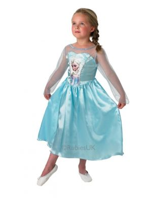 Frozen Classic Elsa Snow Queen Costume  889542