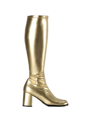 Gold Go-Go Boots