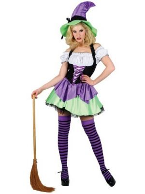 Naughty Witch Costume Wicked