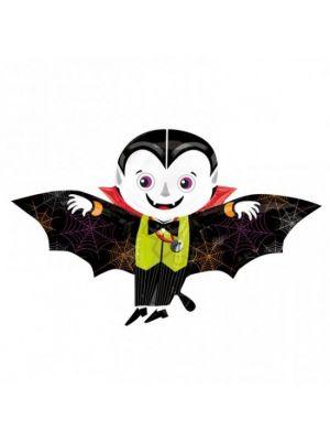 Helium Halloween Playful Vampire Balloon