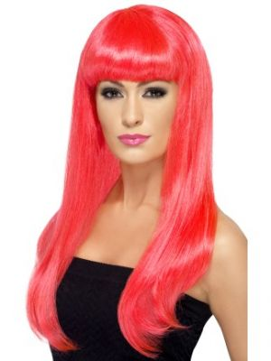 Babelicious Wig Neon Pink 42421