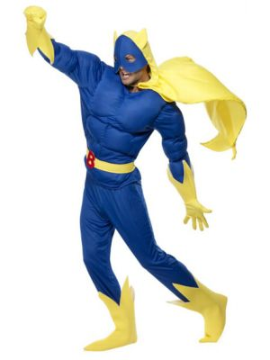 Bananaman Padded Costume Licensed 28082