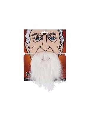 Beard White Fancy Dress AC-9243