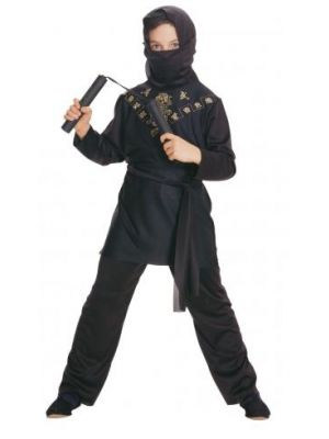 Black Ninja Costume  881037