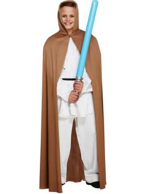 Brown Cape with Hood U36 647