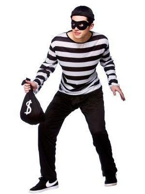 Burglar Costume  EM-3190