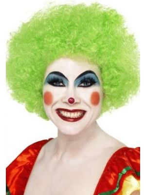 Crazy Clown Green Wig 42084
