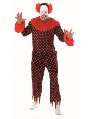 Creepy Clown Costume  3946