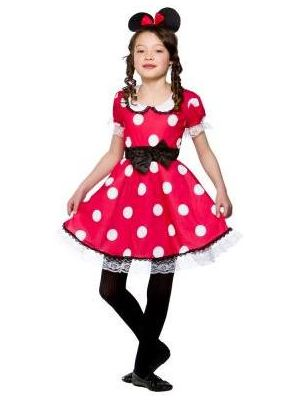 Cute Mouse Girl Costume  EG-3578