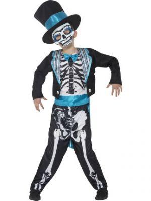 Day of the Dead Groom Costume  Fancy Dress 44929