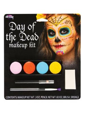 Day of the Dead Makeup Kit Sugar Skull FW-5618-FS