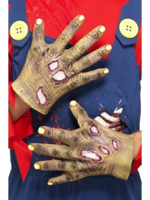 Decaying Zombie Gloves 27843