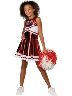 Deluxe Cheerleader High School Musical Costume  882949