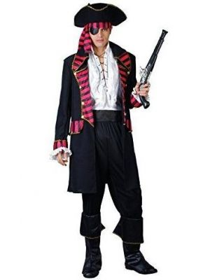 Deluxe Pirate Captain Costume  EM-3231