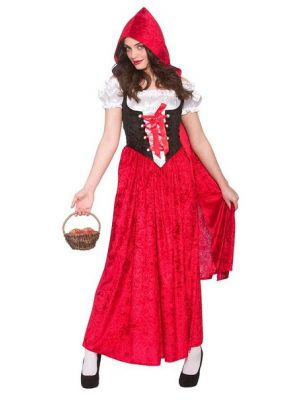 Deluxe Red Riding Hood Costume  EF-2209