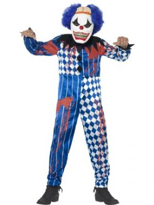Deluxe Sinister Clown Costume  44327