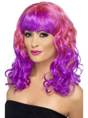 Divatastic Wig Pink 42396