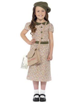 Evacuee Girl Costume  27533