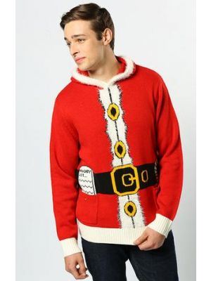 Father Christmas Red Jumper CS421