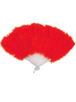 Feather Fan Red U30 516