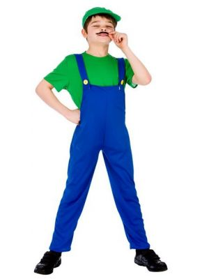 Funny Plumber's Mate Kids Costume  EB-4076
